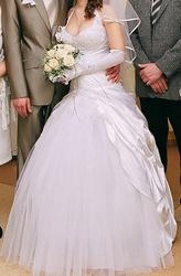 Продам свадебное платье(произв.Литва)