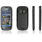 Продам новый Nokia C7 -черный - 2 сим.