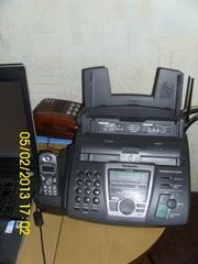 Факс Panasonic KX-FC195RU б/у с DECT трубкой