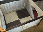 Манеж 0, 9х1, 0 с сумкой переноской